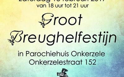 Brueghelfestijn op zaterdag 18 februari 2017