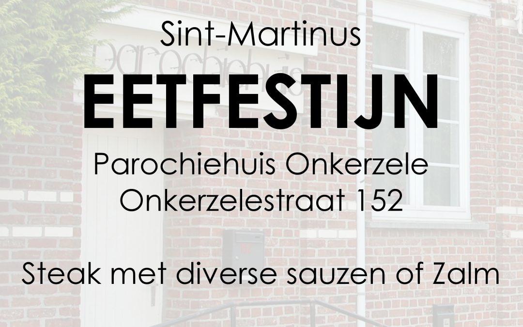 Welkom op Sint-Martinus eetfestijn Onkerzele op zondag 1 oktober 2017