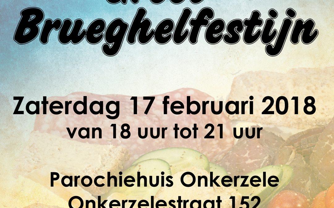 Brueghelfestijn op zaterdag 17 februari 2018