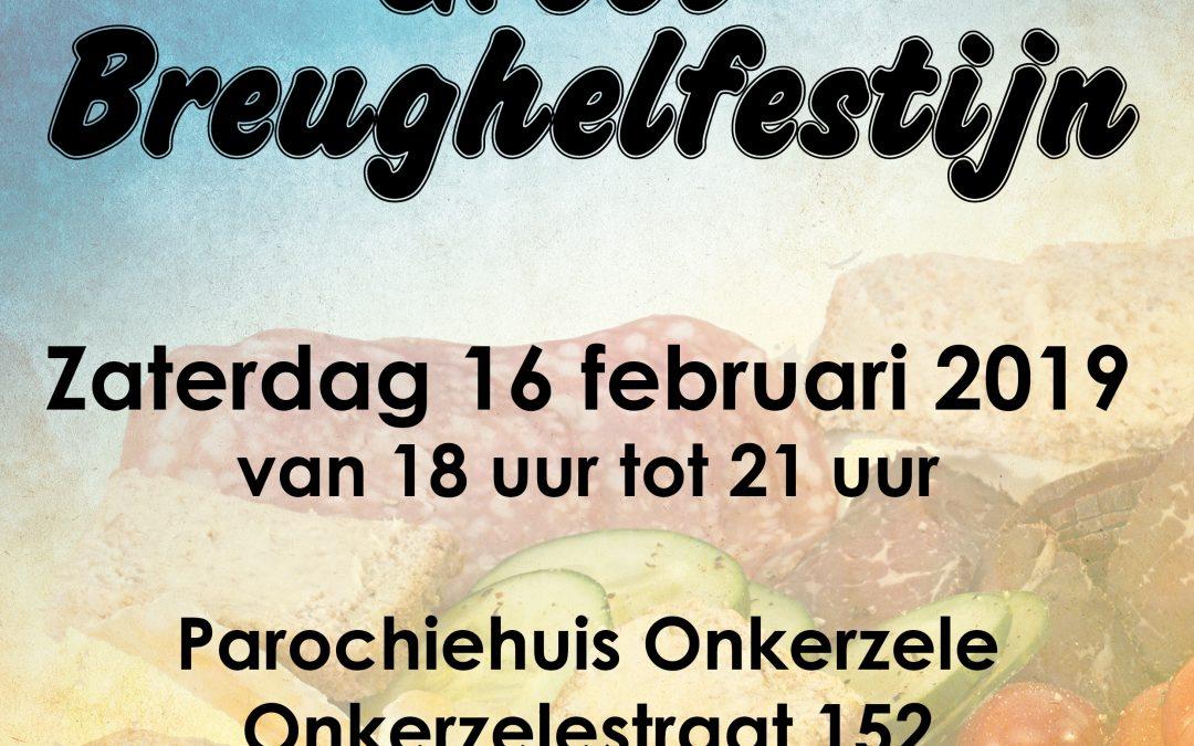 Brueghelfestijn op zaterdag 16 februari 2019